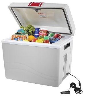 Plug In Cooler >> Koolatron P95 Travel Saver Cooler 45 Quart Light Grey