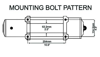Mounting Bolt Pattern