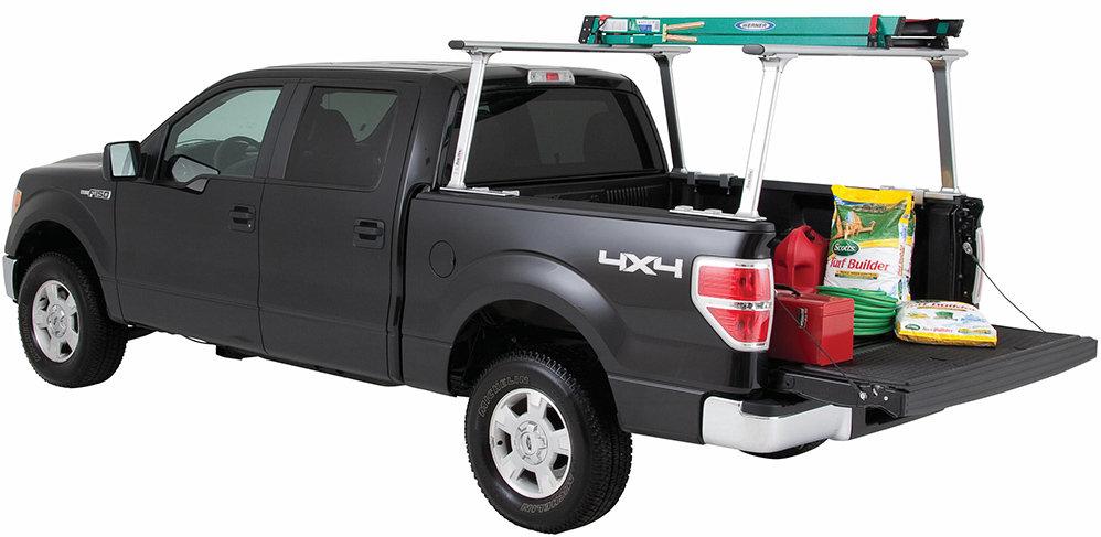 Amazon Com Tracrac Tracone Universal Truck Rack Silver