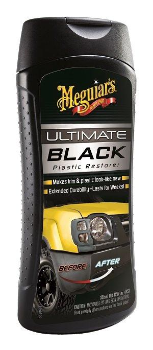 Meguiar 39 s g15812 ultimate black plastic restorer 12 oz automotive for Best way to restore exterior black plastic trim
