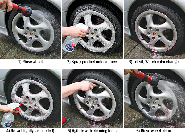 how to clean oxidized chrome rims