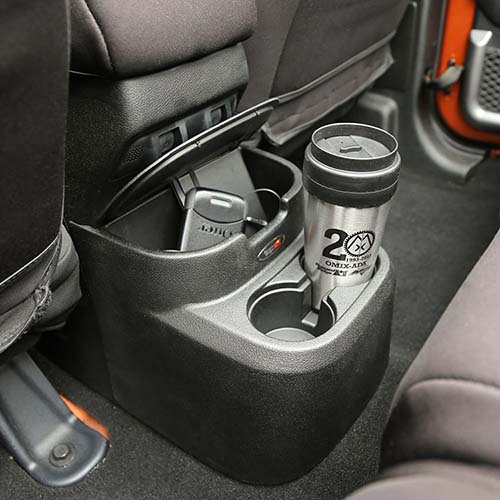 Amazoncom Rugged Ridge 1355115 Rear Seat Organizer And
