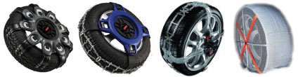 See easy-to-use traction devices that are ideal for vehicles with tight wheel clearance
