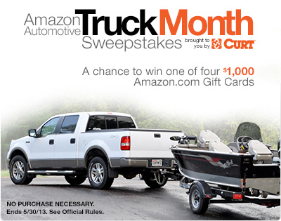 Truck Month Sweepstakes