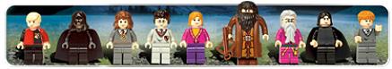 Hogwarts Castle minifig characters