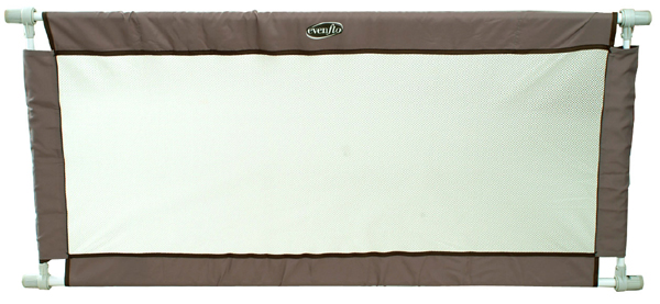 Amazon Com Evenflo Soft And Wide Gate Taupe Amp Chocolate