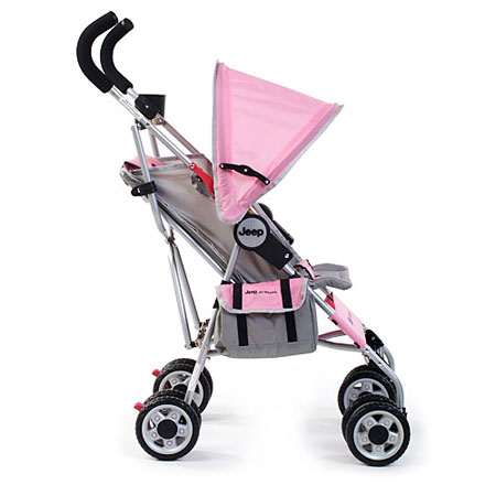 Amazon.com : Jeep All Weather Umbrella Stroller, Ice Pink ...