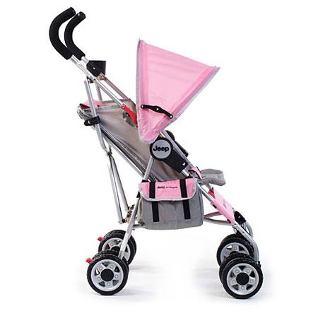 Amazon.com : Jeep All Weather Umbrella Stroller, Ice Pink ...