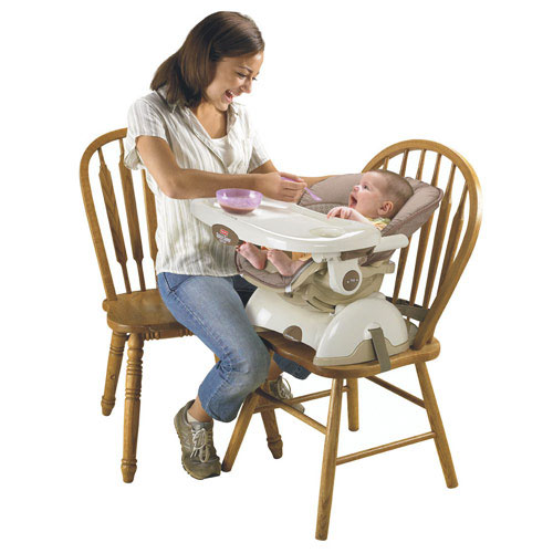 Amazon Com Fisher Price Space Saver High Chair Tan