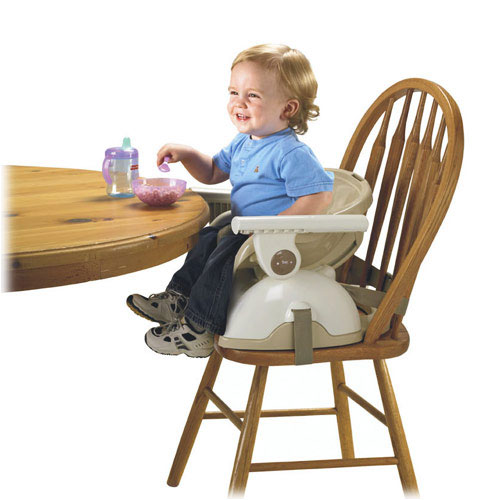 Amazon Com Fisher Price Spacesaver High Chair Tan