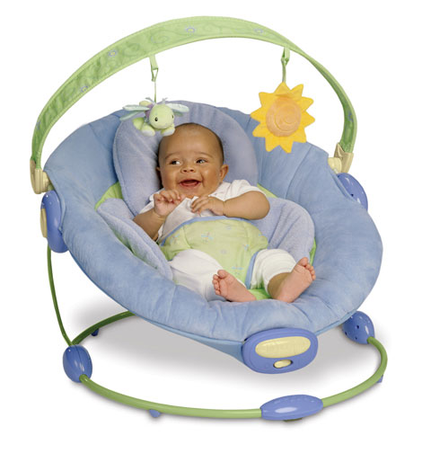 View larger.  sc 1 st  Amazon.com & Amazon.com : Boppy Cradle In Comfort Bouncer - Blue (Discontinued by ...