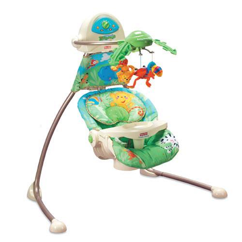 Amazon.com : Fisher Price Cradle 'n Swing - Rainforest : Stationary Baby Swings : Baby