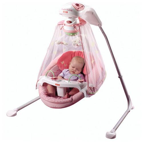 Papasan Baby Swing Fisher Price: Amazon.com : Fisher-Price Papasan Cradle Swing, Butterfly