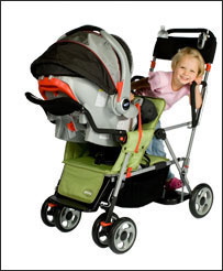 Amazon.com : Joovy Caboose Ultralight Stand On Tandem Stroller ...