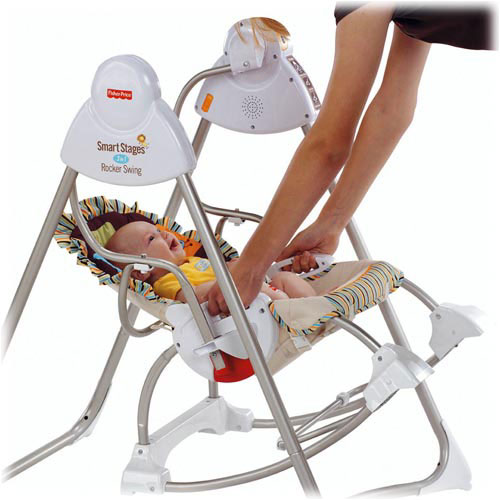 Amazon Com Fisher Price Smart Stages 3 In 1 Swing N