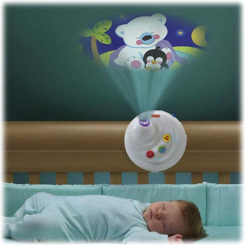 mobile baby crib light projection music plush animal. Black Bedroom Furniture Sets. Home Design Ideas
