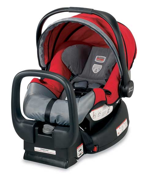 Amazon Com Britax Chaperone Infant Car Seat Red Mill Baby