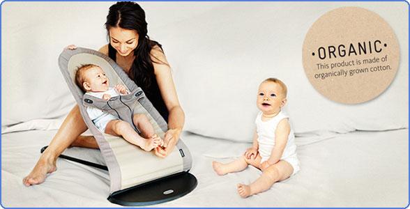 1f7bfa54886 Amazon.com   BABYBJORN Babysitter Balance Organic - Walnut Khaki ...