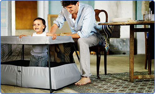 Amazon Com Babybjorn Travel Crib Light Silver