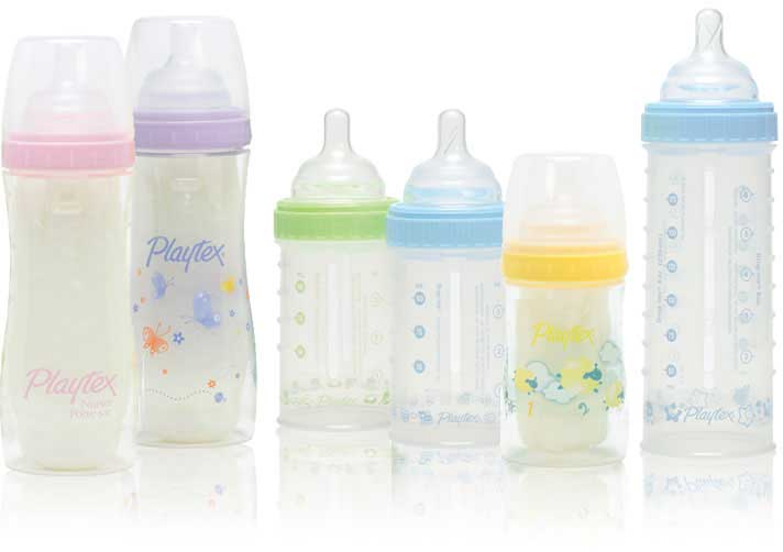 Baby's happy tummy makes for a very happy Mommy. Learn how our Playtex ® VentAire ® bottle can help. Playtex Baby ®, For Better Beginnings. VentAire available in 6oz and 8oz 1 pack and 3 packs and in a 5 pack 9oz size.
