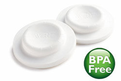 Philips AVENT SCF143/06 Classic Bottle Sealing Discs, BPA Free Product Shot