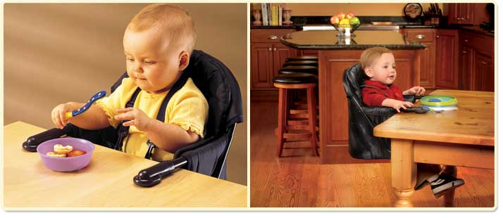Exceptional Regalo Easy Diner Portable Hook On High Chair Lifestyle Shot