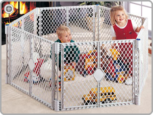 Genial Keep Children Safe With The Superyard XT. View Larger.