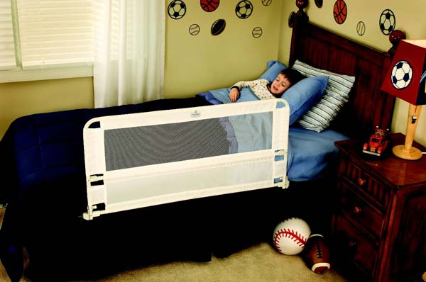 Amazon Com Regalo Hideaway Bed Rail Guard With