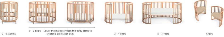 Amazon Com Stokke Sleepi System Natural Baby