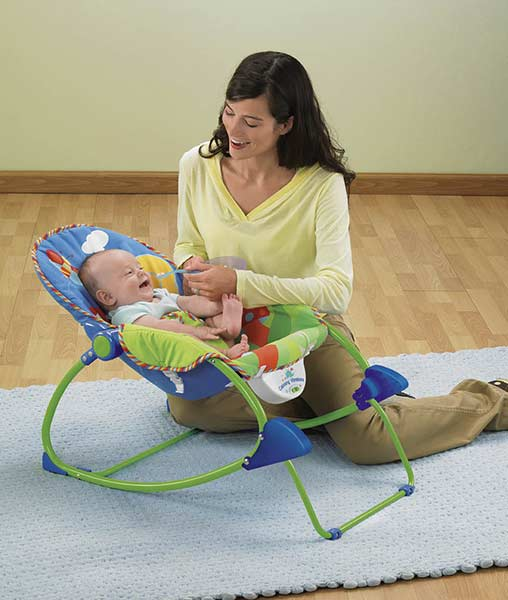 Amazon Com Fisher Price Infant To Toddler Rocker Bug