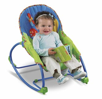 Incroyable Fisher Price Infant To Toddler Rocker Lifestyle Shot