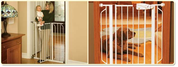 Amazon.com : Regalo Easy Step Extra Tall Walk Thru Gate, White