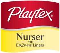 Playtex Drop-Ins Logo