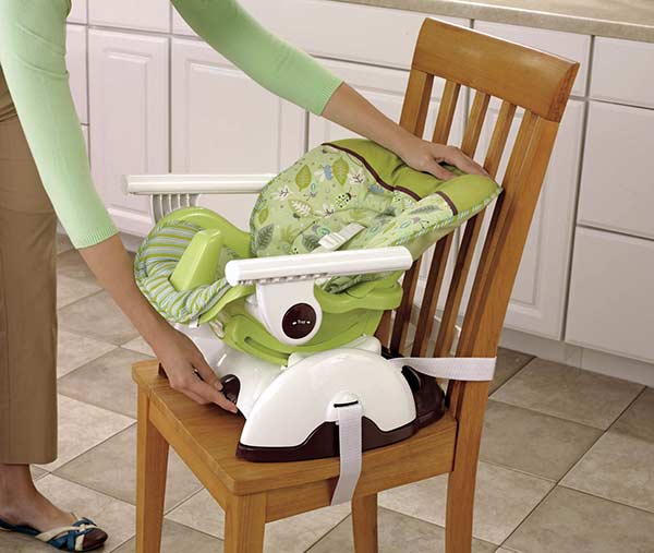 amazon com fisher price space saver high chair scatterbug