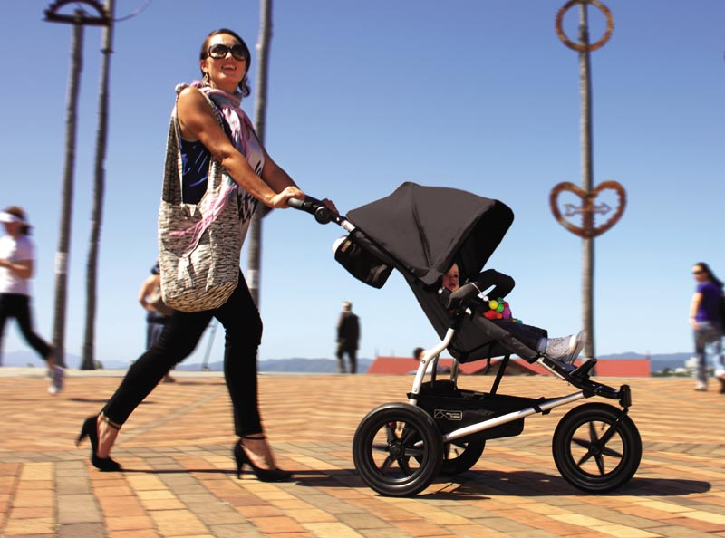 Mountain Buggy 2014 Evolution Urban Jungle Single Stroller in Jade BRAND NEW!!
