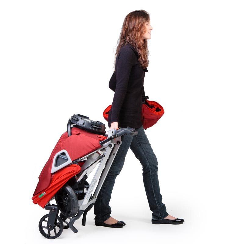 Amazon.com : Orbit Baby Stroller G2, Ruby (Discontinued by ...