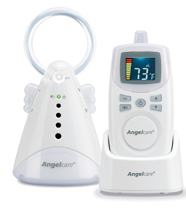 Amazon.com : Angelcare Baby Sound Monitor, White : Baby