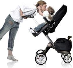 Stokke Xplory Stroller Lifestyle shot