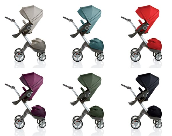 Amazon.com: Carriola Stokke Xplory, color rojo.: Baby