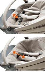 Adjustable seat depth