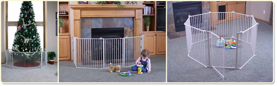 Amazon Com Regalo 192 Inch Super Wide Adjustable Baby Gate And