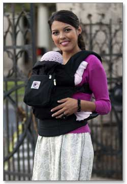 Ergobaby Options Baby Carrier (Black) Product Shot