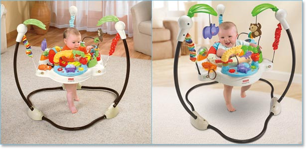 Fisher-Price L U Zoo Jumperoo Lifestyle Shot