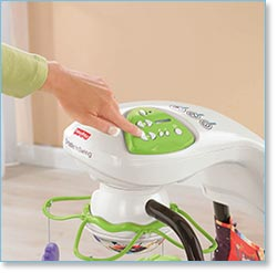 Fisher Price Love U Zoo Cradle Swing - Choose from six soothing speeds, eight songs, and two sounds