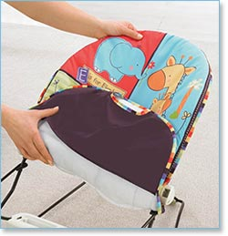 Marvelous Fisher Price Love U Zoo Playtime Bouncer   Lightweight, And Portable