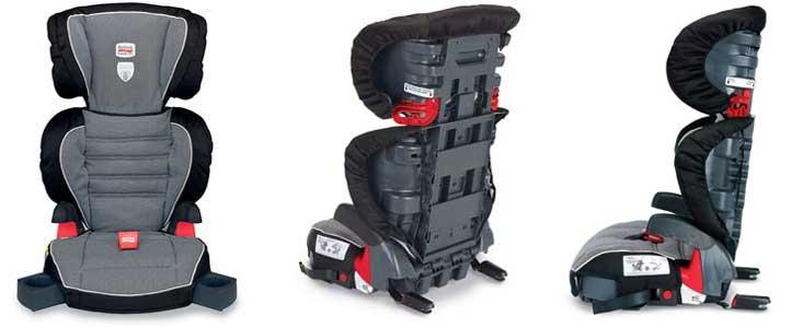 Amazon.com: Britax Parkway SGL Booster Seat, Cloudburst (Prior Model ...