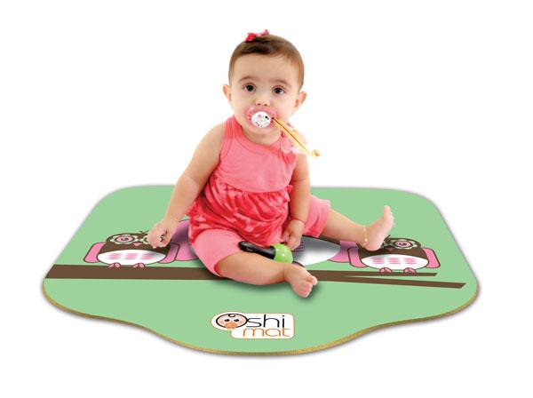 Amazon Com Oshi Mat Baby Mat Kit With Bag Flower