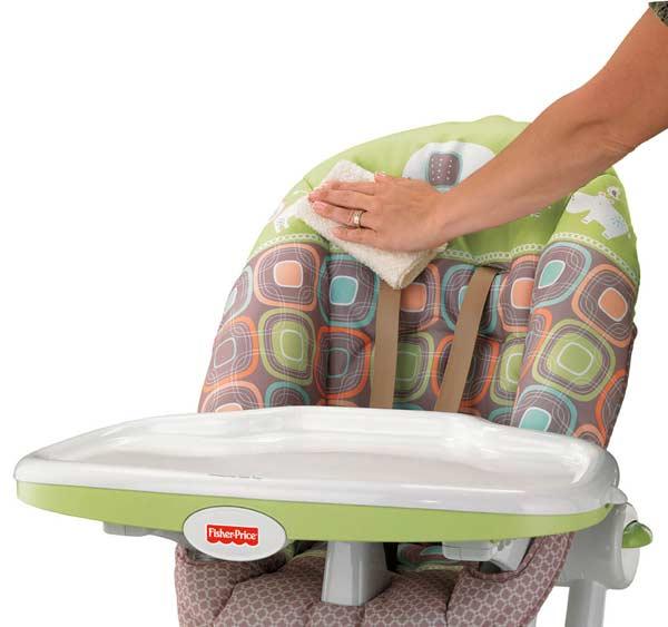 Amazon Com Fisher Price Ez Clean High Chair Coco Sorbet
