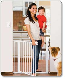 Amazon Com Munchkin Easy Close Metal Gate White
