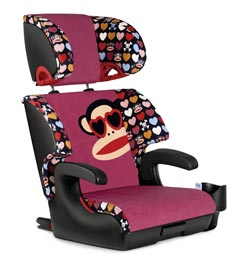 Clek Oobr Booster Car Seat, Paul Frank Heart Shades Product Shot